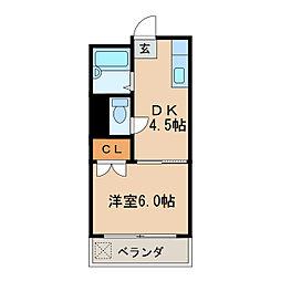 ナゴヤビル[3階]の間取り