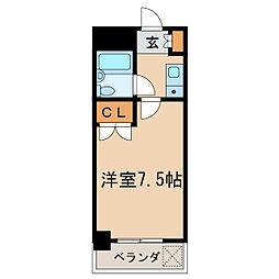 第13オーシャンビル[2階]の間取り