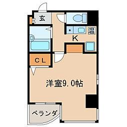 OJビル[5階]の間取り