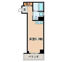 ドール丸の内[4階]の間取り