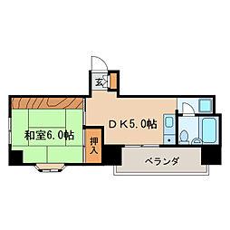 ダイアパレス東桜[5階]の間取り