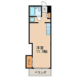 菱家ビル[10階]の間取り