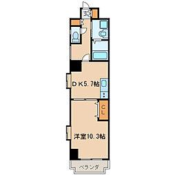 フローラル泉[4階]の間取り