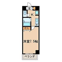プロビデンス栄[8階]の間取り