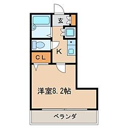 第6ビル和光[7階]の間取り