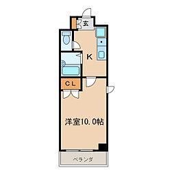 カーサ新栄[6階]の間取り