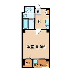 Js aoi[5階]の間取り