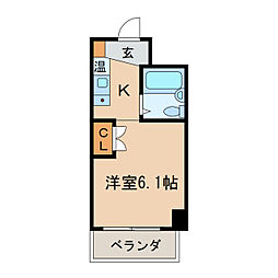 S・V丸の内[11階]の間取り