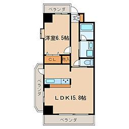 音羽壱番館SAKAE[2階]の間取り