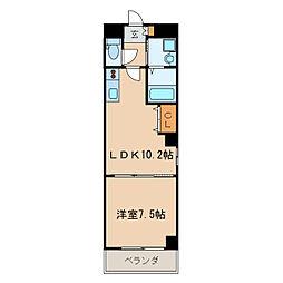 マルティーノ新栄[8階]の間取り