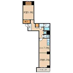 新栄シマダマンション[3階]の間取り