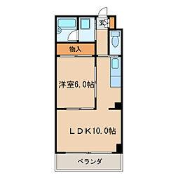 新栄シマダマンション[5階]の間取り