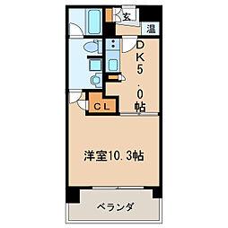 KDXレジデンス東桜II[7階]の間取り