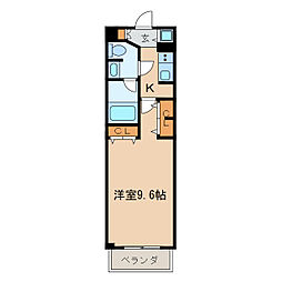 プライムアーバン泉[4階]の間取り