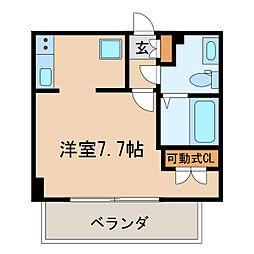 ライブコート丸の内[4階]の間取り