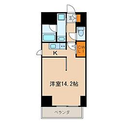 S-FORT葵一丁目[5階]の間取り