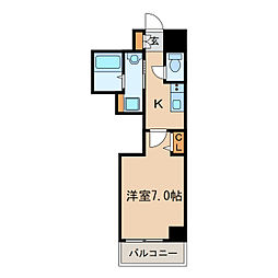 PONTE ALTO新栄[2階]の間取り