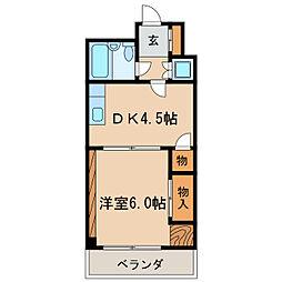 チサンマンション栄リバーパーク[7階]の間取り