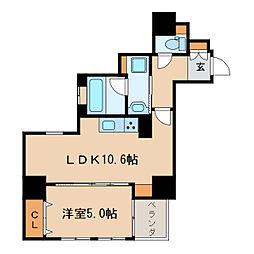ネクサスサクラ[5階]の間取り