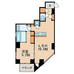 SK BUILDING-501[7階]の間取り