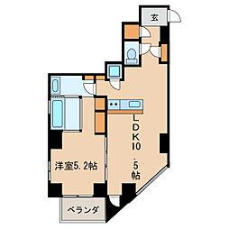 SK BUILDING-501[5階]の間取り