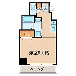 サン・錦本町ビル[6階]の間取り