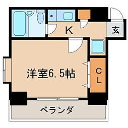 ライオンズマンション丸の内第7[3階]の間取り