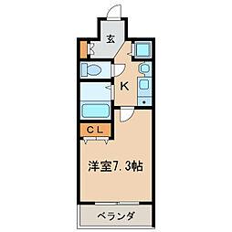 プレサンス栄メディパーク[5階]の間取り