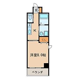 BERG IZUMI[2階]の間取り