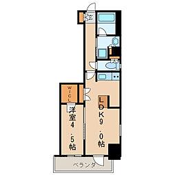エステムプラザ名古屋丸の内[12階]の間取り