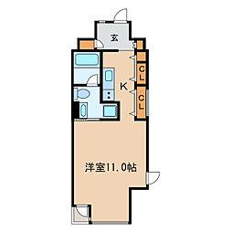 N.S.ZEAL泉[13階]の間取り