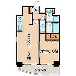 プレサンス泉シティアーク[15階]の間取り