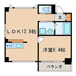 アークプラッツ[4階]の間取り