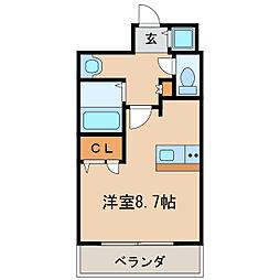 プレサンス泉セントマーク[6階]の間取り