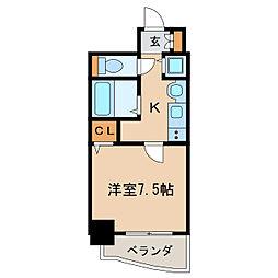 プレサンス泉アーバンゲート[12階]の間取り