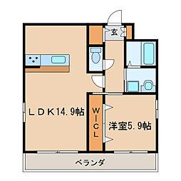 UNROOM[10階]の間取り