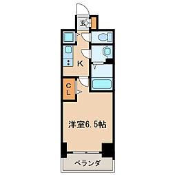 プレサンス丸の内レジデンスIII[14階]の間取り