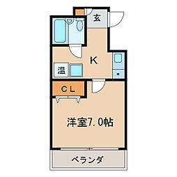 ES HEIGHTS[8階]の間取り