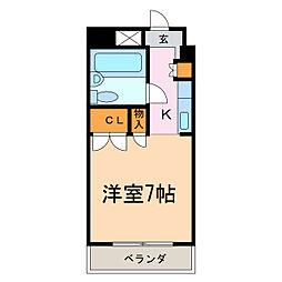ロアール平針[4階]の間取り