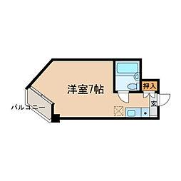 柊5番館[3階]の間取り