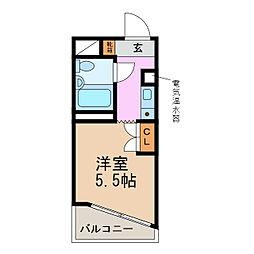 グランデール名古屋[7階]の間取り