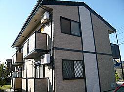 三重県亀山市東御幸町の賃貸アパートの外観