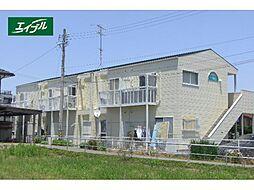 三重県鈴鹿市岡田2丁目の賃貸アパートの外観