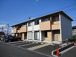 三重県鈴鹿市道伯2丁目の賃貸アパートの外観