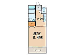 ビビッドステージ[1階]の間取り