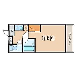 シャルマンフジ和歌山五番館[2階]の間取り