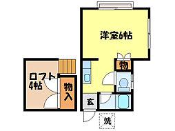思案橋駅 3.3万円