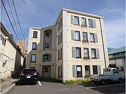 北海道函館市旭町の賃貸マンションの外観