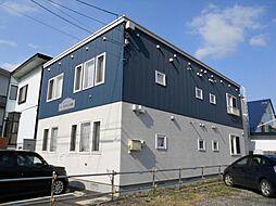 北海道函館市松陰町の賃貸アパートの外観