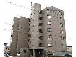 北海道函館市富岡町1丁目の賃貸マンションの外観